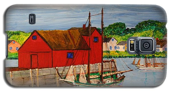 Pinky Schooner Maine At Motif 1 Galaxy S5 Case