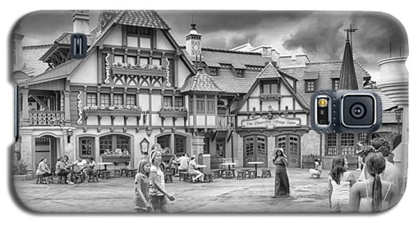 Galaxy S5 Case featuring the photograph Pinocchio's Village Haus by Howard Salmon