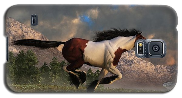Pinto Mustang Galloping Galaxy S5 Case