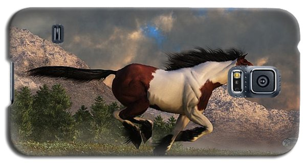 Pinto Mustang Galloping Galaxy S5 Case
