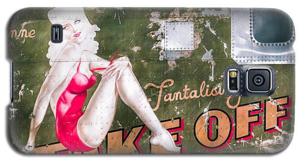 Pinup Girl - Aircraft Nose Art - Take Off Anne Galaxy S5 Case