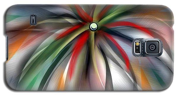 Pinwheel Abstract Galaxy S5 Case