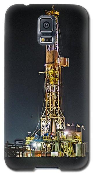 Pioneer Drill Rig # 77 Galaxy S5 Case by Paul Freidlund