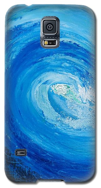 Galaxy S5 Case featuring the painting Pipeline No Way Out by Conor Murphy