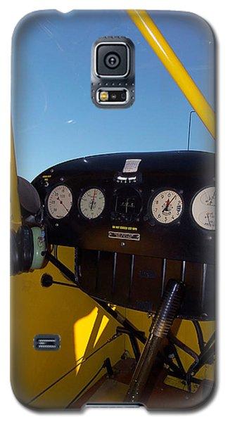 Piper Cub Dash Panel Galaxy S5 Case by Chris Mercer
