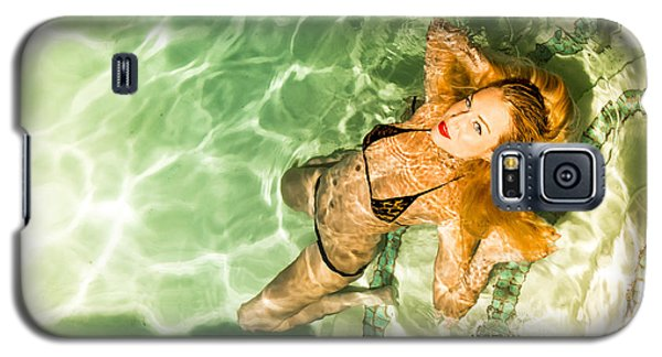 Galaxy S5 Case featuring the photograph Wet Piper Precious No73-5824 by Amyn Nasser