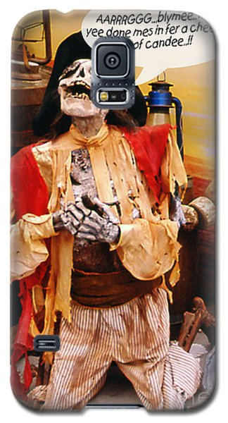 Pirate For Halloween Galaxy S5 Case by Gary Brandes