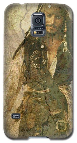 Pirate Johnny Depp - Steampunk Galaxy S5 Case