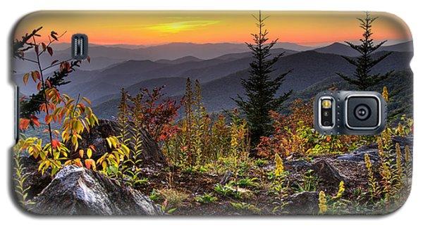 Pisgah Sunset - Blue Ridge Parkway Galaxy S5 Case