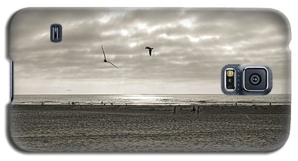 Galaxy S5 Case featuring the photograph Pismo And Birds by Joseph Hollingsworth