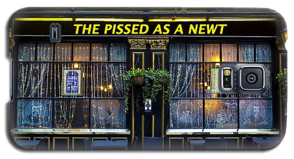 Pissed As A Newt Pub  Galaxy S5 Case by David Pyatt