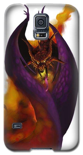 Dungeon Galaxy S5 Case - Pit Fiend by Matt Kedzierski