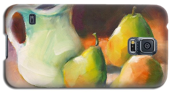 Pitcher And Pears Galaxy S5 Case by Michelle Abrams