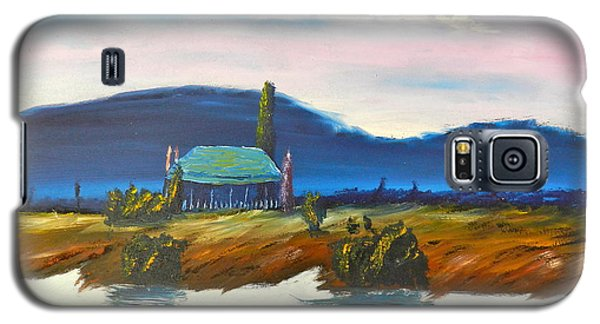 Galaxy S5 Case featuring the painting Pittown by Pamela  Meredith