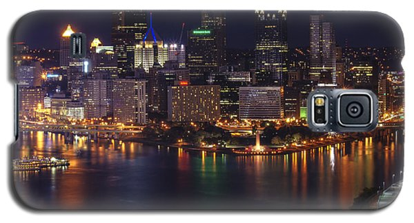 Pittsburgh After The Setting Sun Galaxy S5 Case by Michelle Joseph-Long