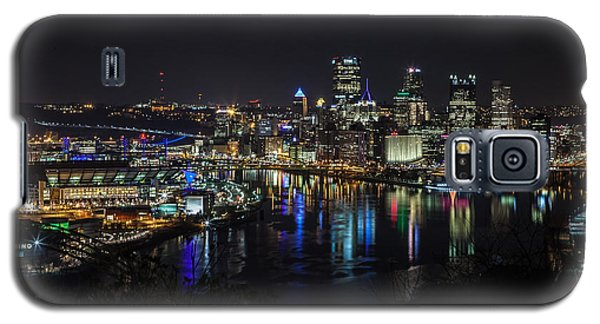 Pittsburgh Skyline At Night Galaxy S5 Case