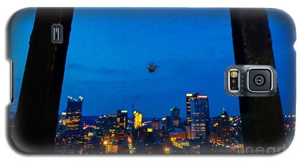 Pittsburgh Skyline At Night Galaxy S5 Case