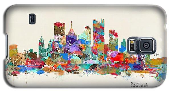 Pittsburgh Skyline Pennsylvania Galaxy S5 Case by Bri B