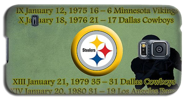 Pittsburgh Steelers Super Bowl Wins Galaxy S5 Case