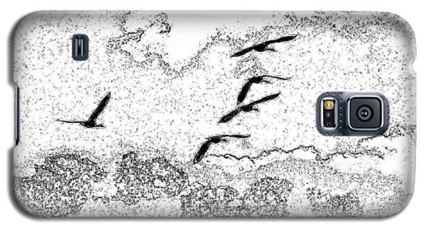 Pixel Flight Galaxy S5 Case by Michael Dohnalek