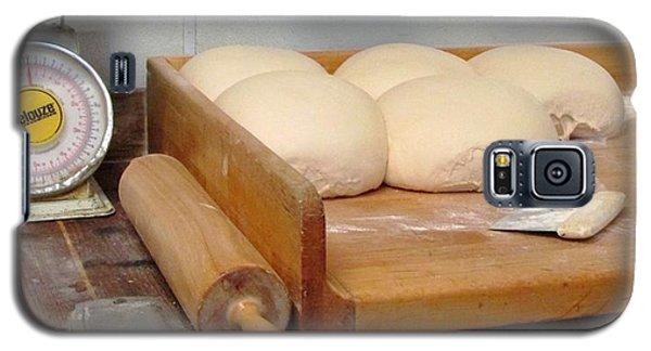 Pizza Dough Ready To Go Galaxy S5 Case by Brenda Pressnall