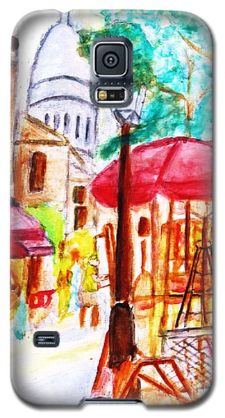 Place Du Tertre Of Paris Galaxy S5 Case