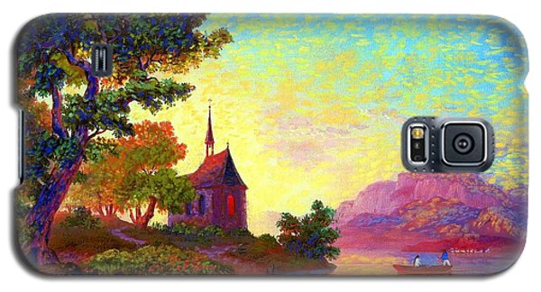 Beautiful Church, Place Of Welcome Galaxy S5 Case by Jane Small