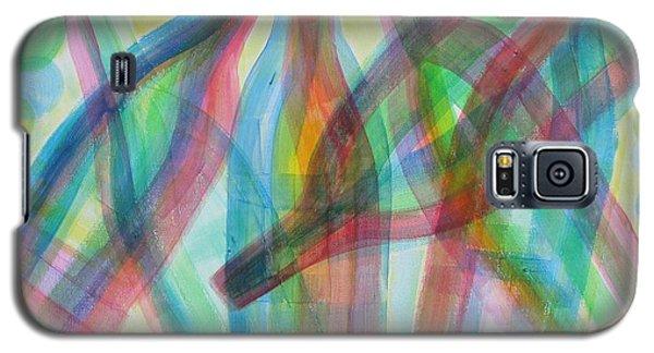 Plaid Wine Galaxy S5 Case by Diane Pape