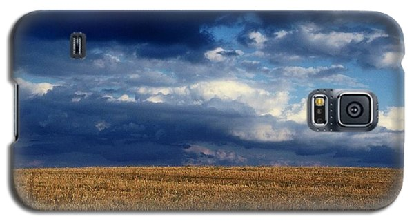 Galaxy S5 Case featuring the photograph Plain Sky by Rodney Lee Williams