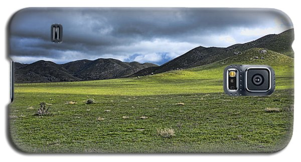 Galaxy S5 Case featuring the photograph Plains And Sierra Mountains by Hugh Smith