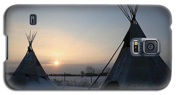 Plains Cree Tipi Galaxy S5 Case