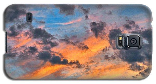 Plainsboro Sunset Galaxy S5 Case by Steven Richman