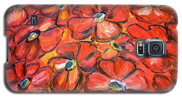 Plaisir Rouge Galaxy S5 Case by Ramona Matei