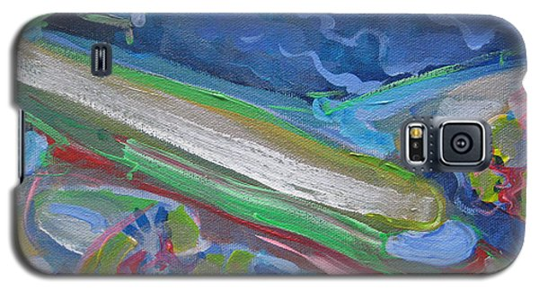 Plane Colorful Galaxy S5 Case