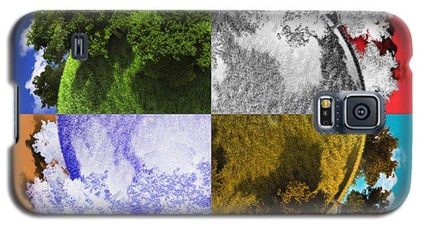 Planet Earth Galaxy S5 Case by Vitaliy Gladkiy