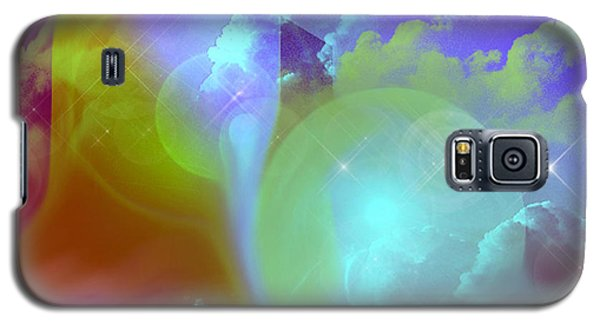 Galaxy S5 Case featuring the digital art Planetary Storm by Ute Posegga-Rudel
