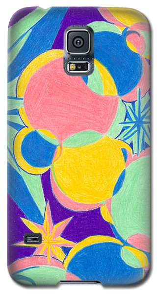 Planets And Stars Galaxy S5 Case by Kim Sy Ok