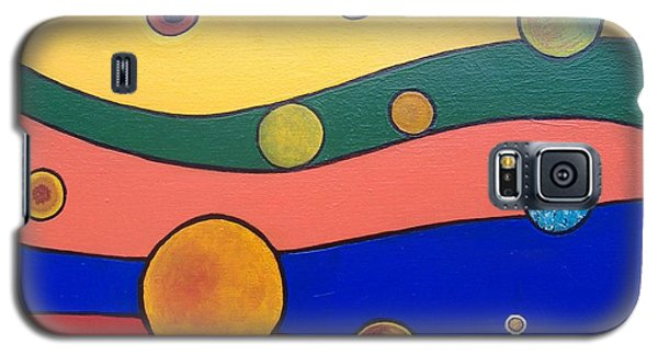 Planets Galaxy S5 Case by Steve  Hester