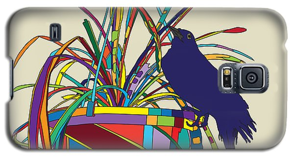 Plant Bird Pop Galaxy S5 Case by Megan Dirsa-DuBois