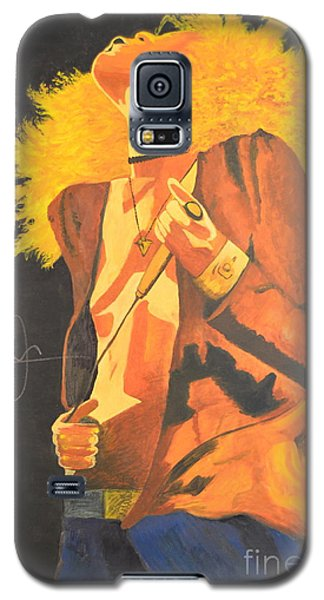 Galaxy S5 Case featuring the painting Plant II by Stuart Engel