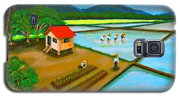Planting Season Galaxy S5 Case by Cyril Maza