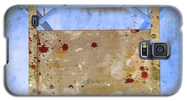 Platform Abstract Galaxy S5 Case by Paul Cammarata