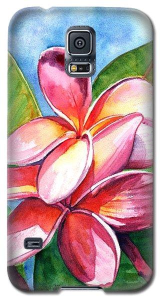 Playful Plumeria Galaxy S5 Case