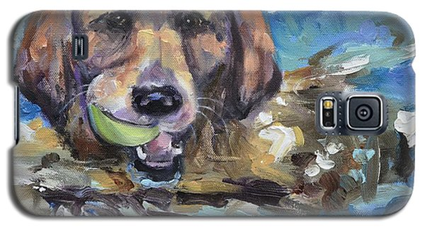 Playful Retriever Galaxy S5 Case