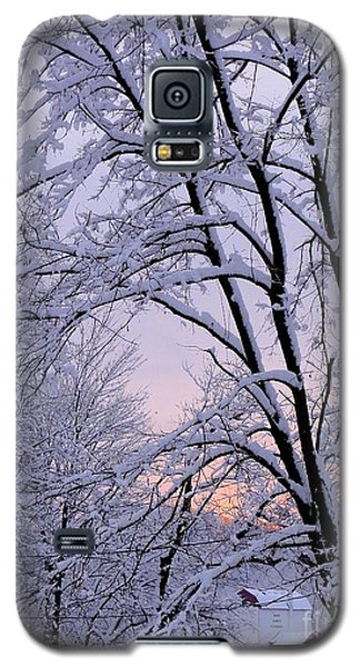 Playhouse Through Snow Galaxy S5 Case
