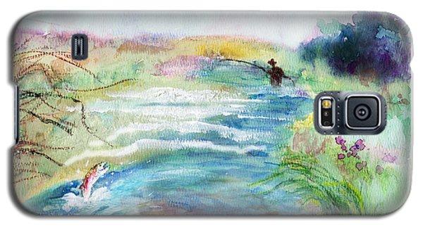 Playin' Hooky Galaxy S5 Case by C Sitton