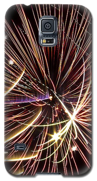 Playin With Fireworks Galaxy S5 Case by Michael Nowotny