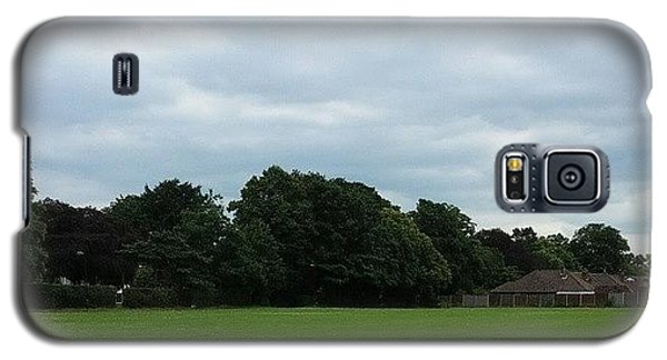 Sport Galaxy S5 Case - Playing Football by Abbie Shores