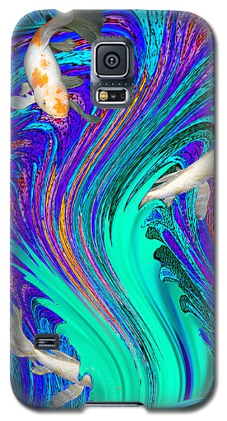 Playing Hide And Seek Galaxy S5 Case by Mariarosa Rockefeller