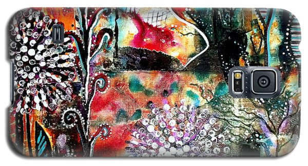 Playing In The Light Galaxy S5 Case by Julie  Hoyle